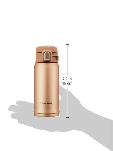 Zojirushi SM-SD36-NM Stainless Steel Vacuum Bottle 360ml Gold