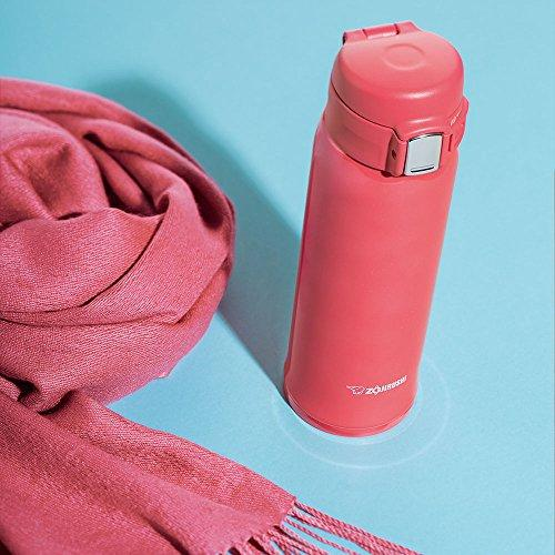 Zojirushi SM-SC60-PV Vacuum Insulated Flask 600ml Coral Pink