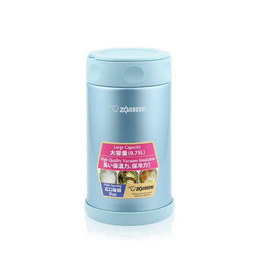 Zojirushi Vacuum Food Jar 750ml Aqua Blue