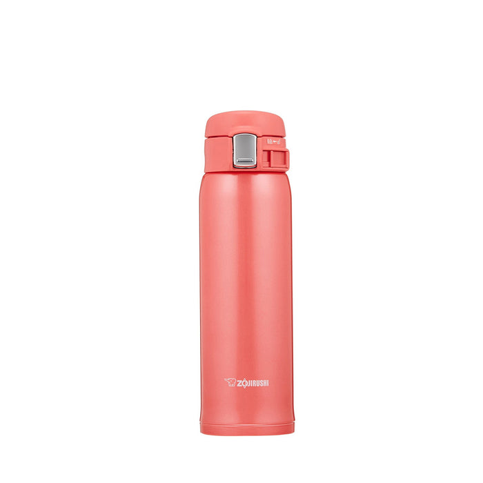 Zojirushi SM-SC48-PV Vacuum Insulated Flask 480ml Coral Pink