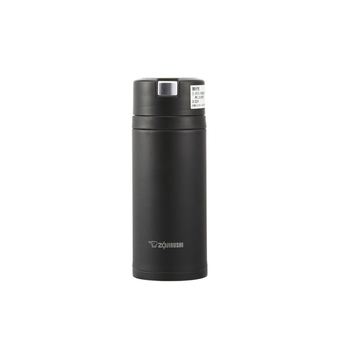 Zojirushi SM-XA36-BA Vacuum Insulated Flask 360ml Black