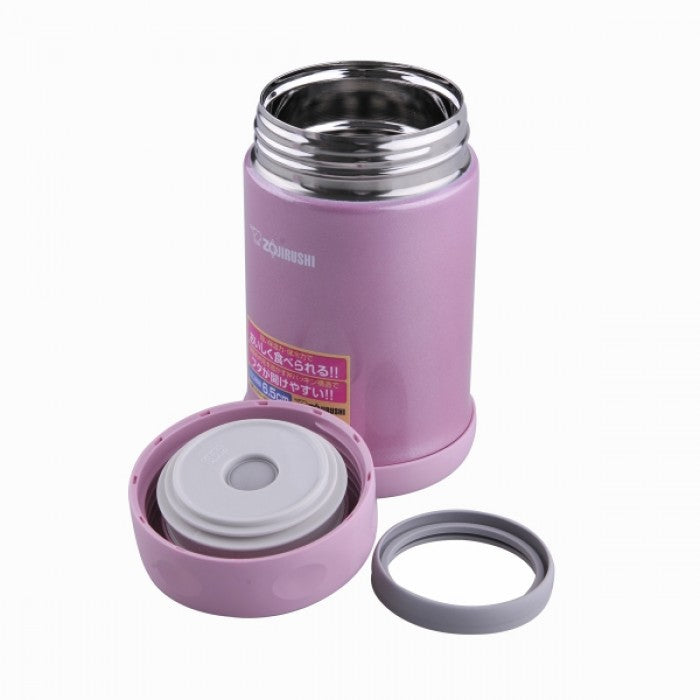 Zojirushi SW-ED35-PA Vacuum Food Jar 350ml Shiny Pink