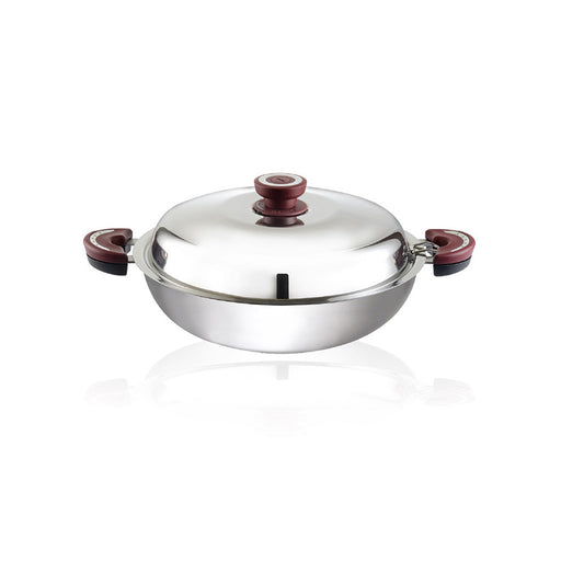 Buffalo Function Series 32cm Flat Bottom Wok