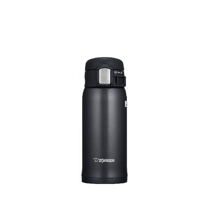 Zojirushi SM-SD36-BC Stainless Steel Vacuum Bottle 360ml Black