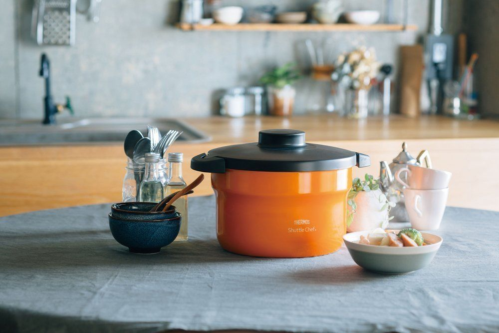 Thermos Shuttle Chef Thermal Cooker 2.8L Orange