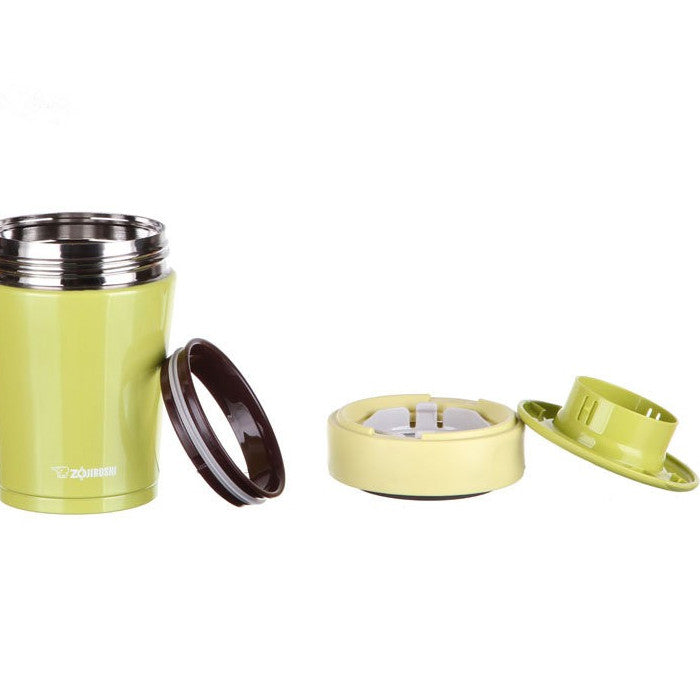 Zojirushi Vacuum Food Jar 360ml Lime Yellow