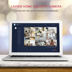 LaView Security Cameras  4PC