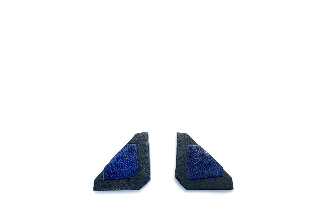 Blue & Black Asci Earrings