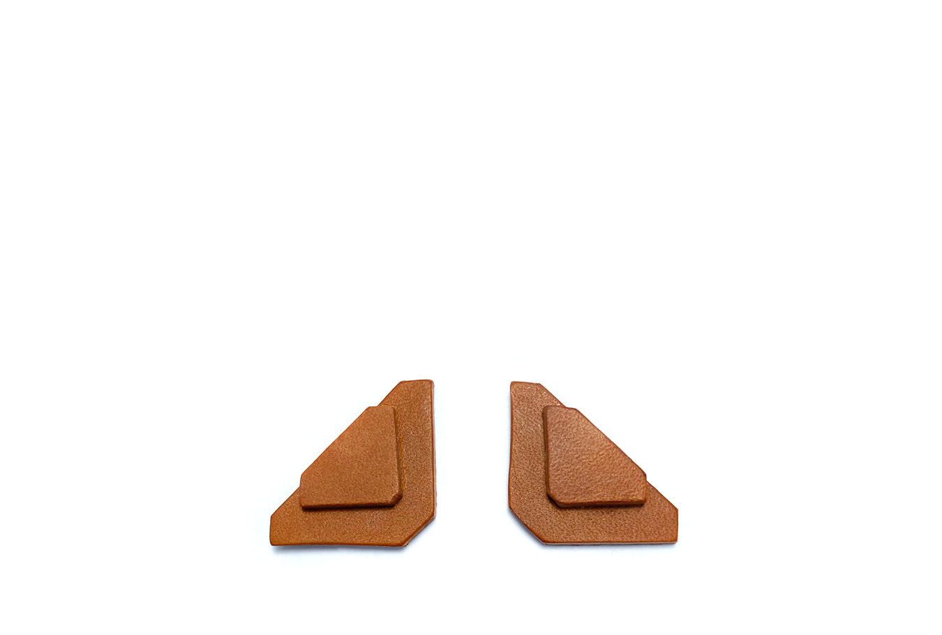 Brown Asci Earrings