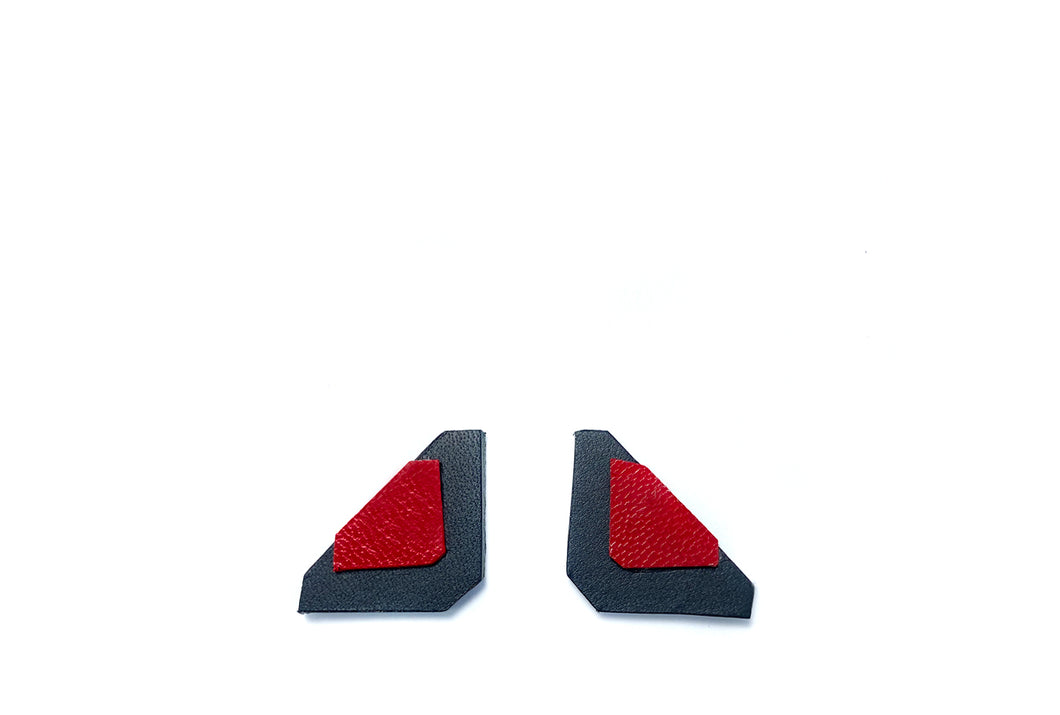 Red Asci Earrings