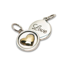 Load image into Gallery viewer, Love Heart Charm