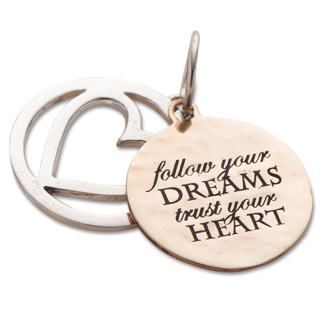 Follow Your Dreams Slider Charm