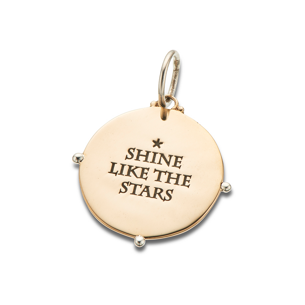 Shine Like The Stars Charm