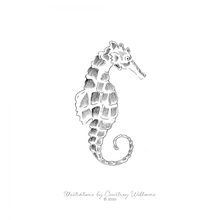 Load image into Gallery viewer, Seahorse Charm