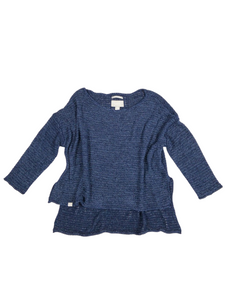 Drift Away Pullover - Pacific Blue