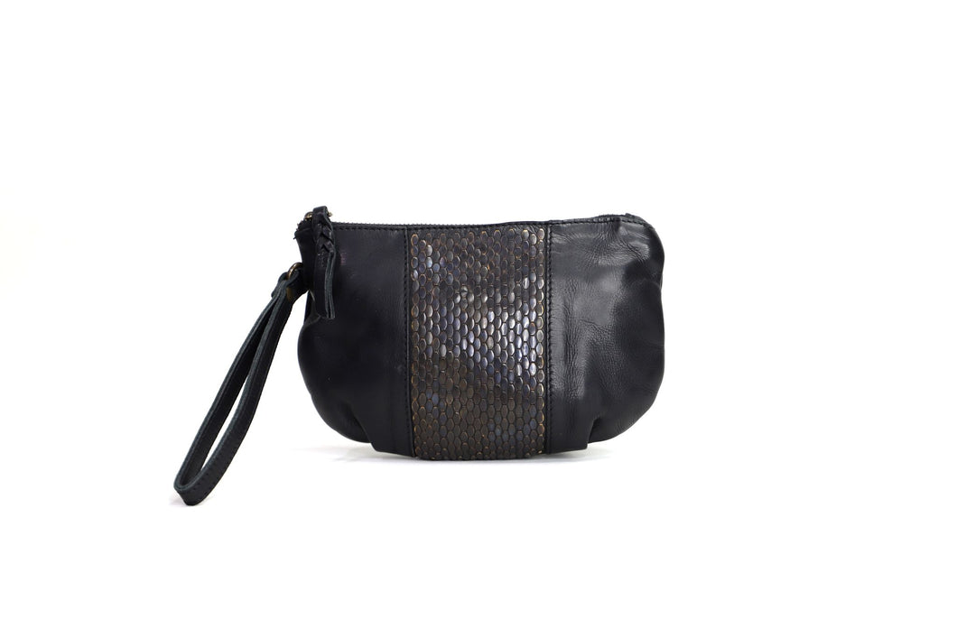 A Night To Remember Clutch Bag - Black