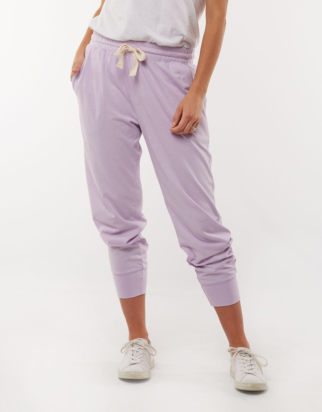 Wash Out Pant - Lilac