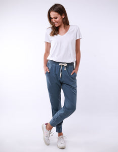 Wash Out Pant - Steel Blue