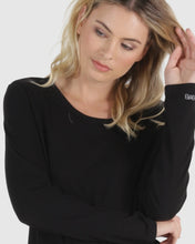 Load image into Gallery viewer, Megan Long Sleeve Top - Black