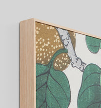 Load image into Gallery viewer, Nashi Woodblock Framed Canvas