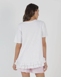 Sorrento Tee - White