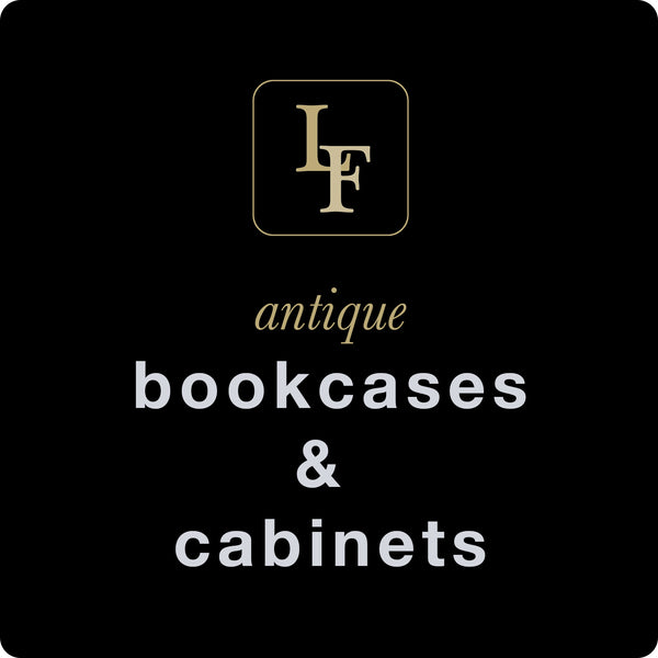 Antique Bookcases & Cabinets