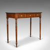 Antique Side Table, English, Georgian, Mahogany, Console Table, Circa 1790