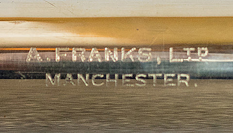 A Franks Ltd, Manchester, Optician and Instrument Maker