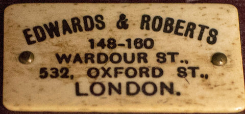 Edwards & Roberts, Wardour Street, London