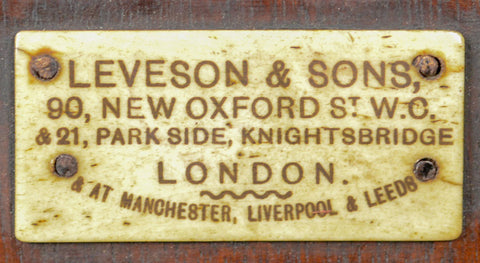 Leveson and Sons, London