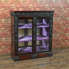 Regency Rosewood Mirror Back Cabinet