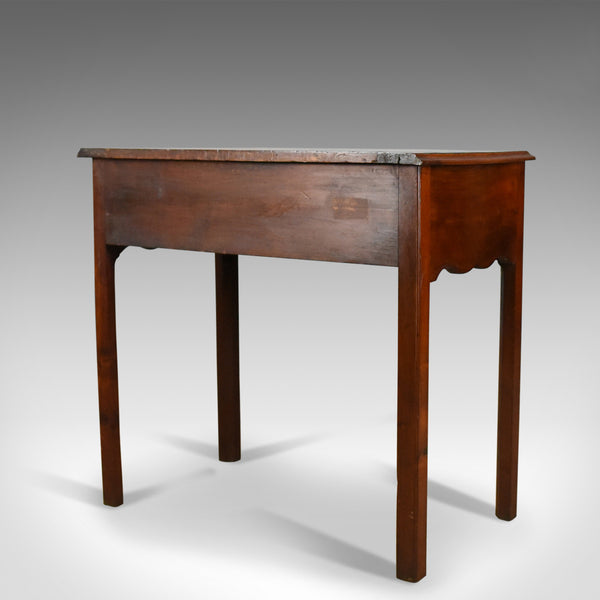 Antique Lowboy, Mahogany, Late Georgian, English Side Table, Circa 1800 - London Fine Antiques
