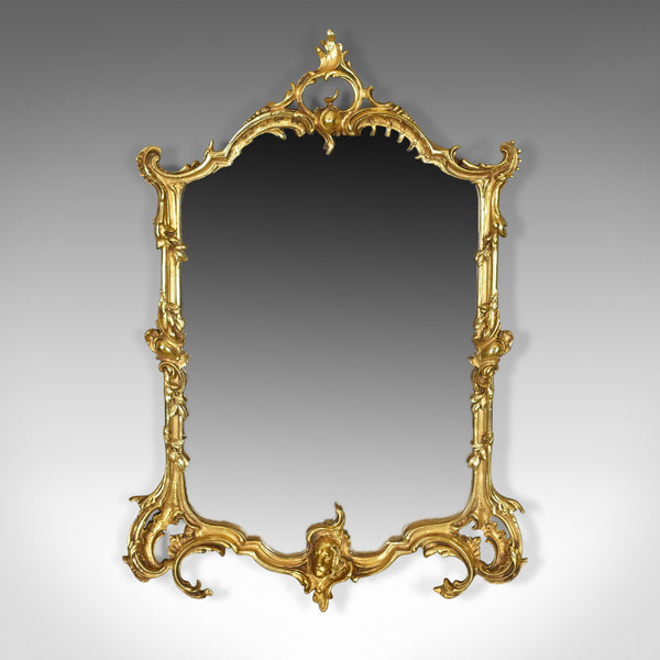 Vintage Wall Mirror, English, Rococo Revival Manner, 20th Century - London Fine Antiques