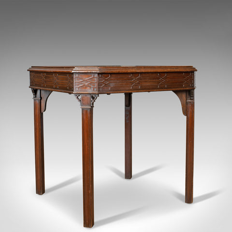 Antique Games Table, English, Georgian, Mahogany, Card, Oriental Circa 1800 - London Fine Antiques