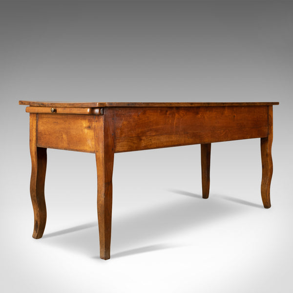 Antique Boulangerie Table, French, Country Kitchen, Bakery, Fruitwood