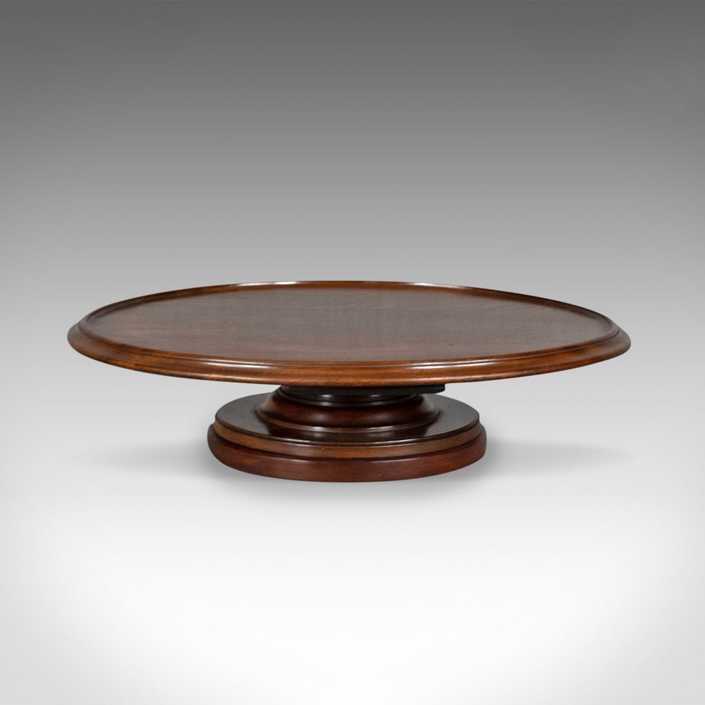 Antique Lazy Susan, English, Georgian, Mahogany, Turntable, Circa 1800 - London Fine Antiques
