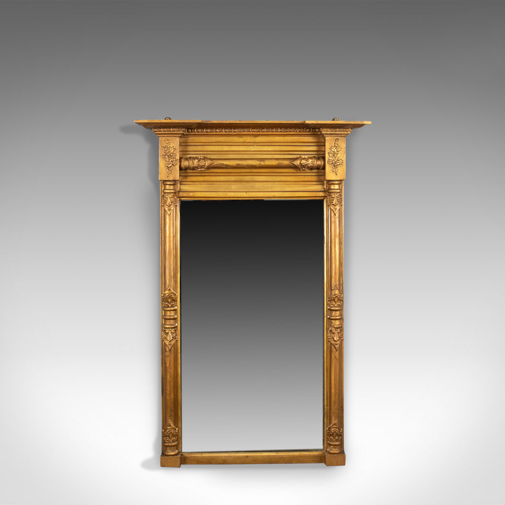 Antique Pier Mirror, Regency, Giltwood, Wall, Early 19th Century, Circa 1820 - London Fine Antiques