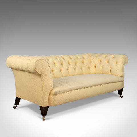 Antique Chesterfield Sofa, English, Victorian, 3 Seater Settee, C19th Circa 1890 - London Fine Antiques