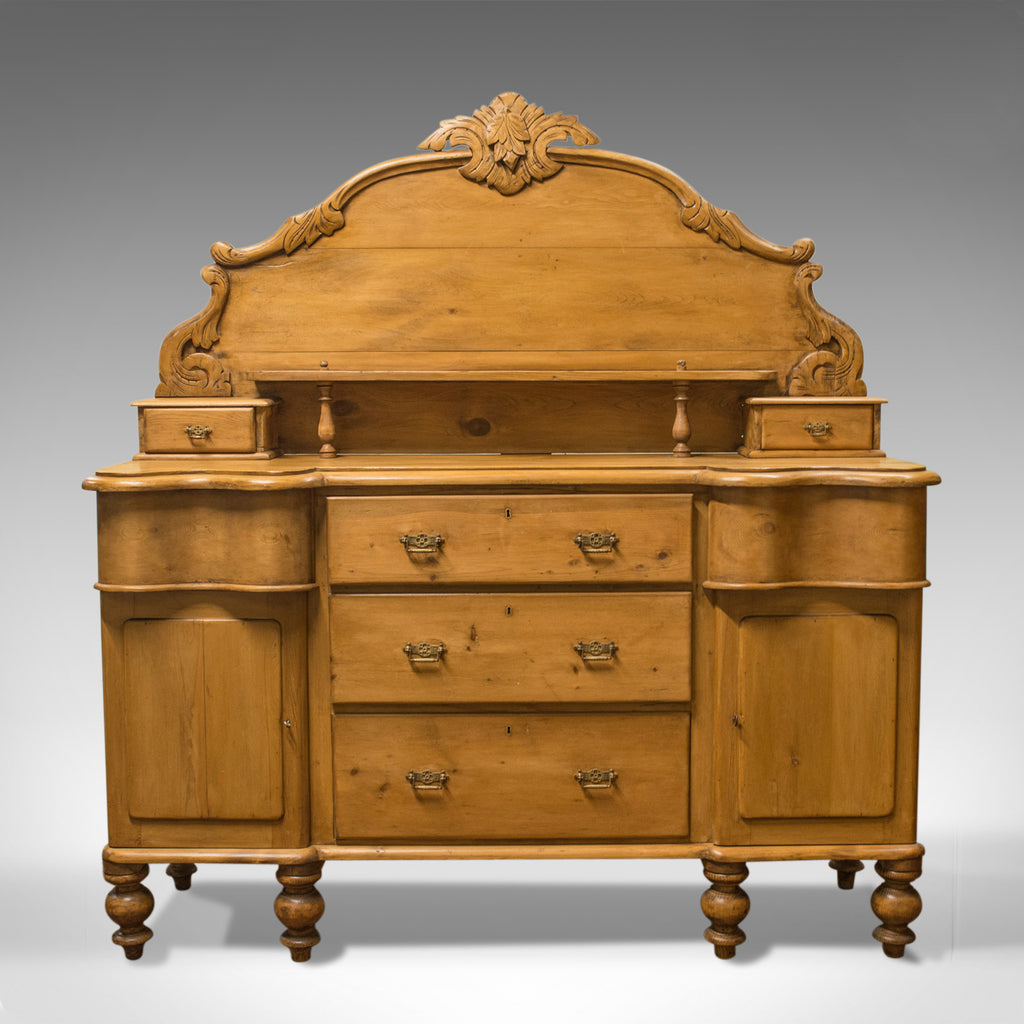 Large Antique Pine Sideboard, French, Late 19th Century, Buffet, Circa 1900 - London Fine Antiques