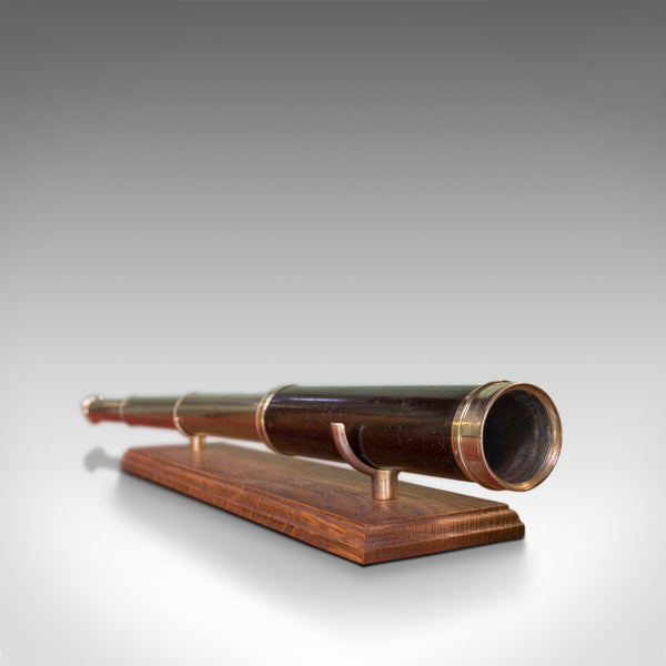 Antique Telescope, 3 Draw, Pocket Refractor, Dollond London, Mid 19th Century - London Fine Antiques