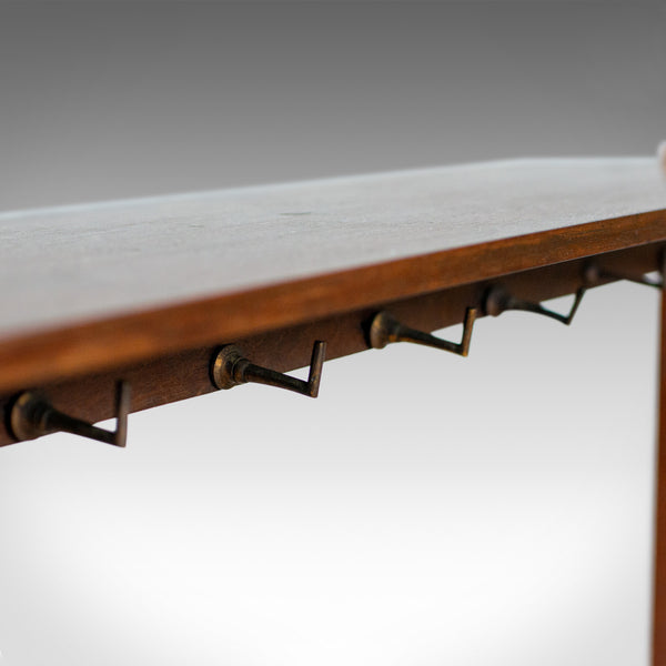 Antique Boot Rack, English, Edwardian, Riding, Crop, Stand, Mahogany, Circa 1910 - London Fine Antiques