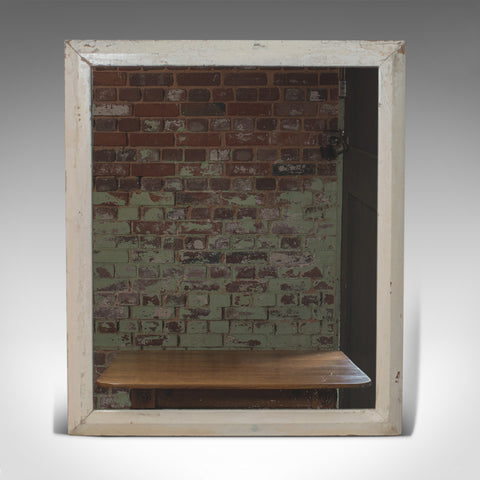 Antique Wall Mirror, English, Victorian, Pitch Pine, Late 19th Century C.1880