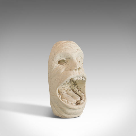 'Mind The Gap' Sculpture, Artwork, English, Bath Stone, Bust, Dominic Hurley - London Fine Antiques
