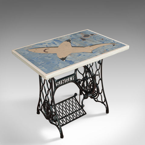 Scheiders Nightmare, Table, Shark, Singer, English, Pietra Dura, Dominic Hurley - London Fine Antiques