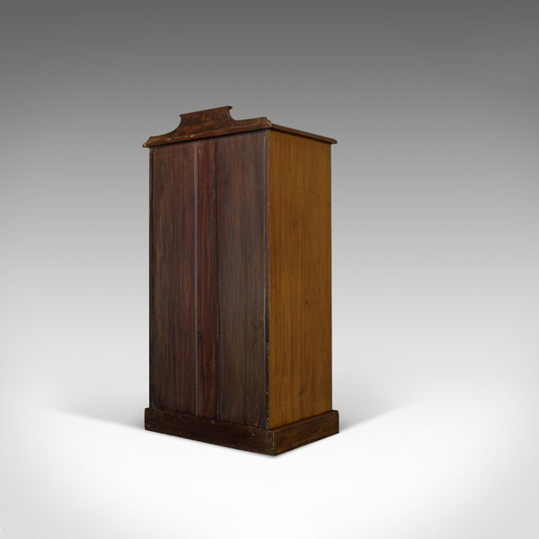 Antique Pier Cabinet, English, Mahogany, Display, Showcase, Late 19th Century - London Fine Antiques