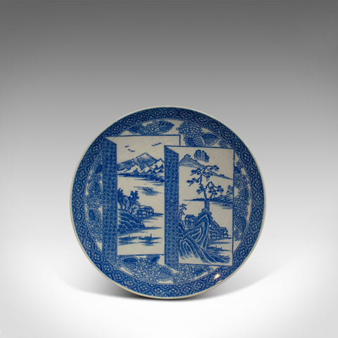 Vintage Decorative Plate, Arita Taste, Japanese, Painted, Dish, 20th Century - London Fine Antiques