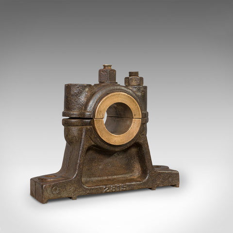 Antique Engine Bearing, English, Cast Iron, Bronze, Desk, Paperweight, Ornament - London Fine Antiques