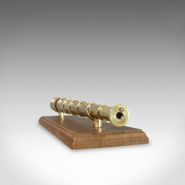 Antique Pocket Telescope, English, Brass, 6 Draw, Refractor, Terrestrial, C.1840 - London Fine Antiques