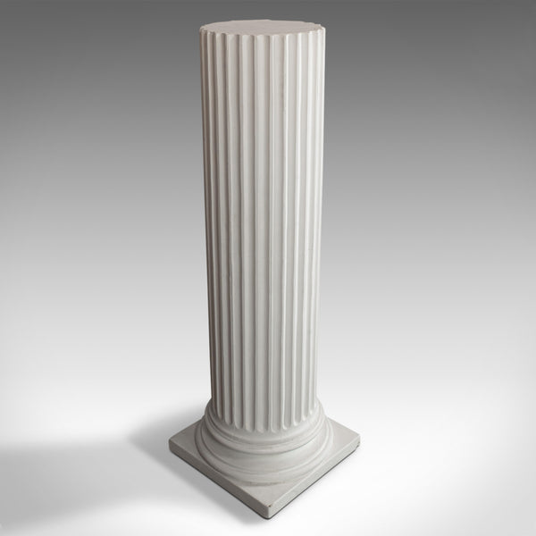 Vintage Doric Column, English, Architectural, Plaster, Display Base, Classical - London Fine Antiques