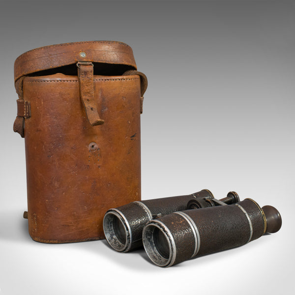 Vintage Pair of Binoculars, German, 12x Magnification, Busch Prisma Terlux - London Fine Antiques